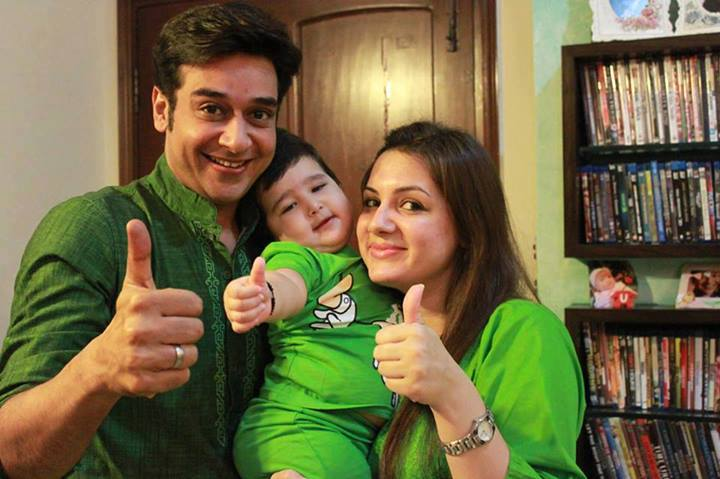 Faisal Qureshi with Family Photos