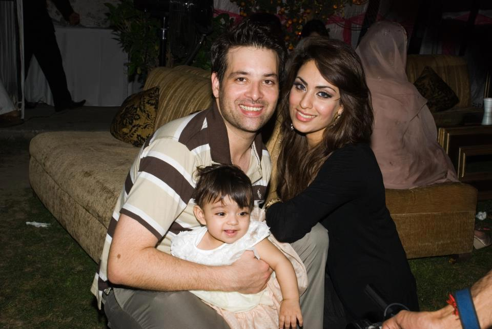 Mikaal Zulfiqar with family photo