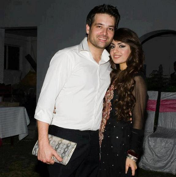 Mikaal Zulfiqar with wife photos