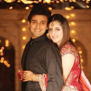 Sami Khan with wife Photos