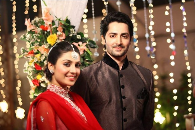 Danish Taimoor with Wife Photos