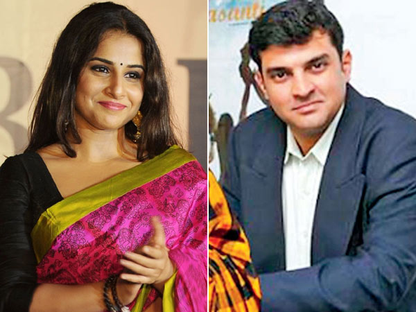Vidya Balan and Siddharth Roy Pictures