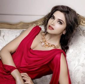 Deepika Padukone Hot Pics in red Dress