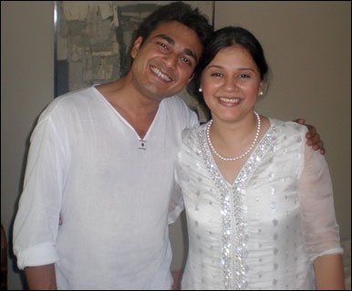 Azfar Ali and Salma Hassan