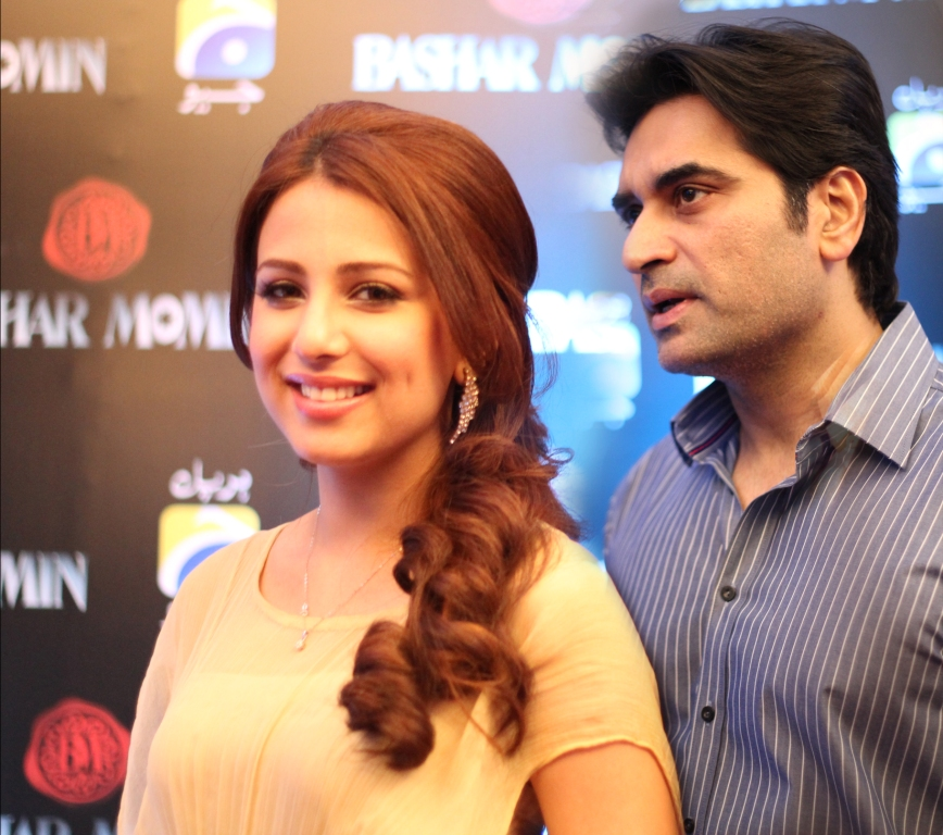 Ushna Shah Affaris with Hamayun Saeed