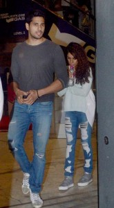 Dashing Sidharth Malhotra with Alia Bhatt