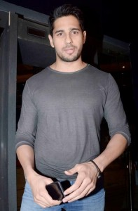 Sidharth Malhotra Bollywood Actor