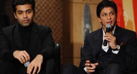 Patch up Between Shahrukh Khan and Karan Johar
