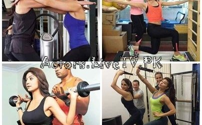 Bollywood Celebrities in Gym 01