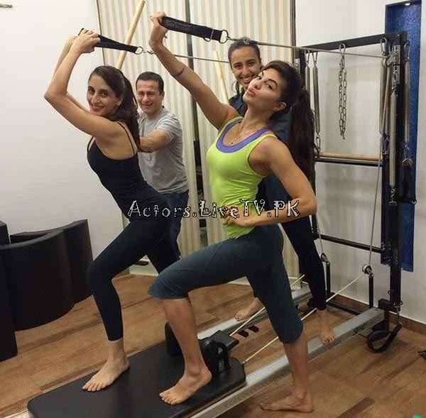 Bollywood Celebrities in Gym (13)