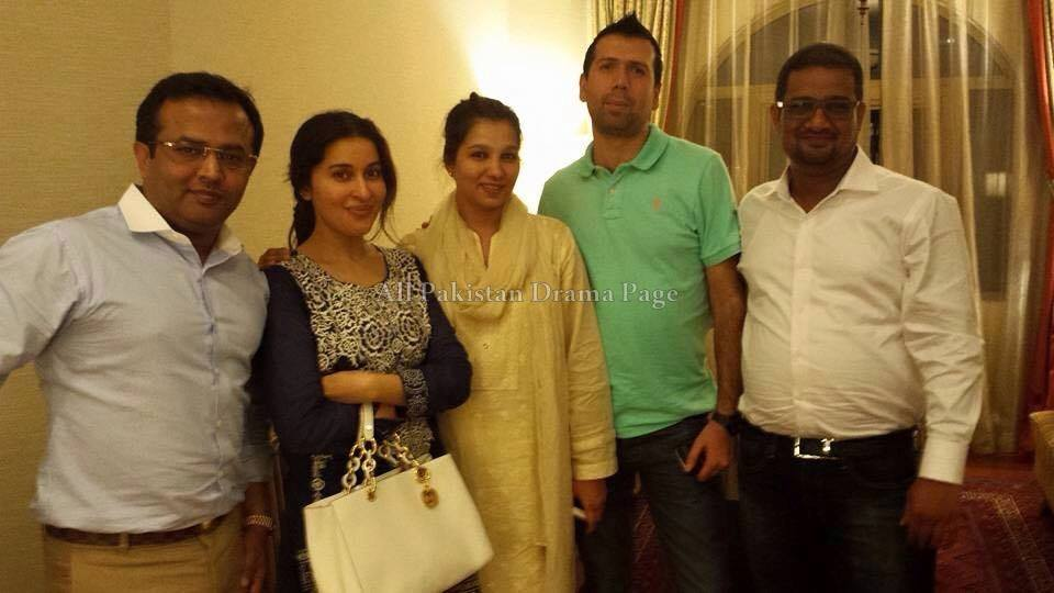 Shaista Lodhi Latest Pictures with New Husband (5)
