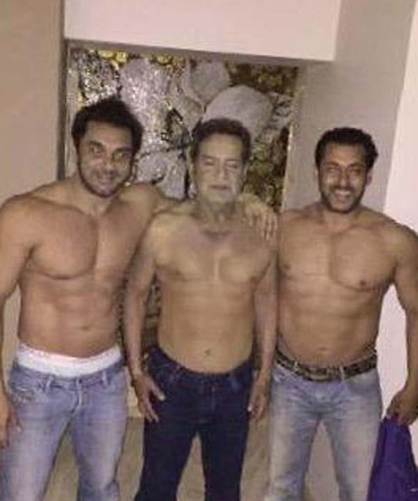 Salman Khan Family Picture