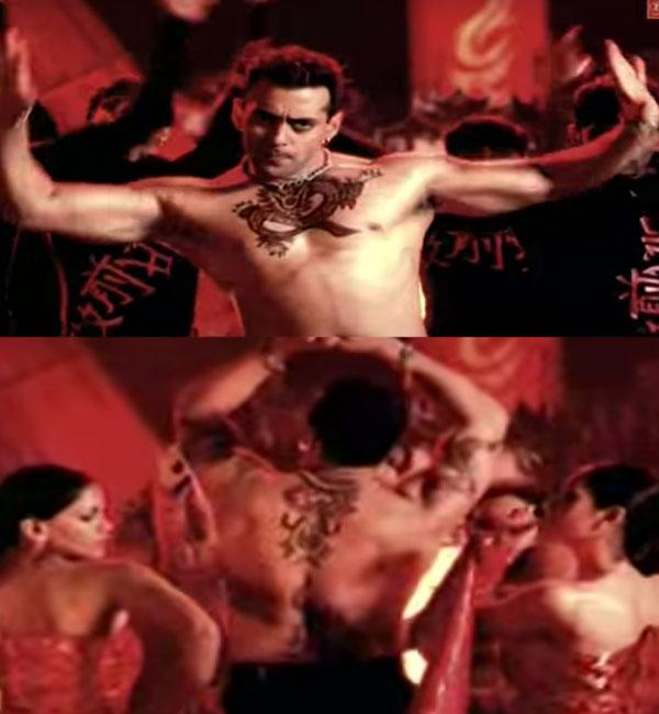 Salman Shirtless Moments