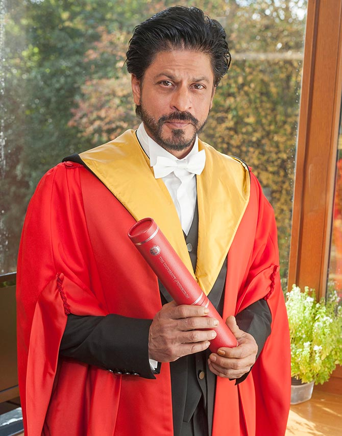 SRK Awareded Honorary Doctorate