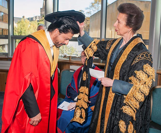 SRK Recieved Honorary Doctorate