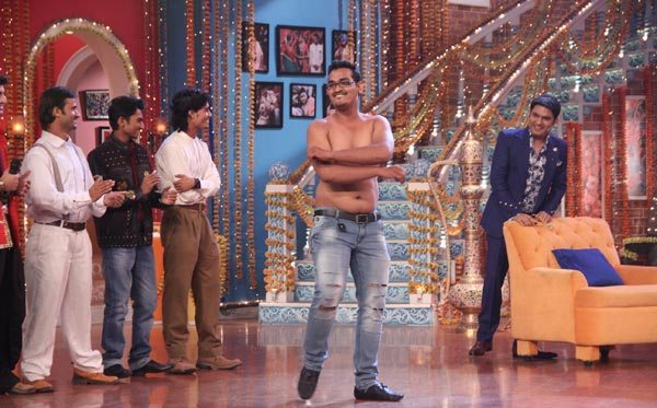 Salman Khan and Sonam Kapoor in Kapil Sharma Show 06