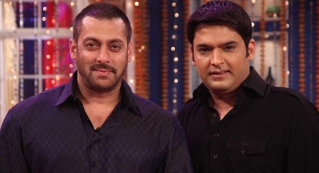 Salman Khan and Sonam Kapoor in Kapil Sharma Show
