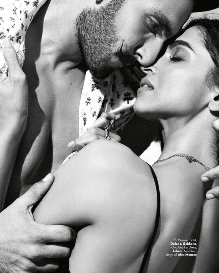 Deepika, Ranveer on Vogue Magazine Oct 2015 01