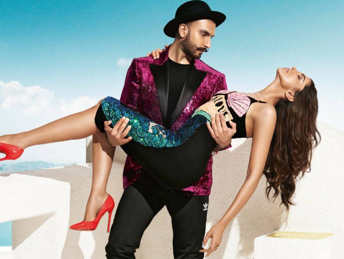 Deepika, Ranveer on Vogue Magazine Oct 2015 07