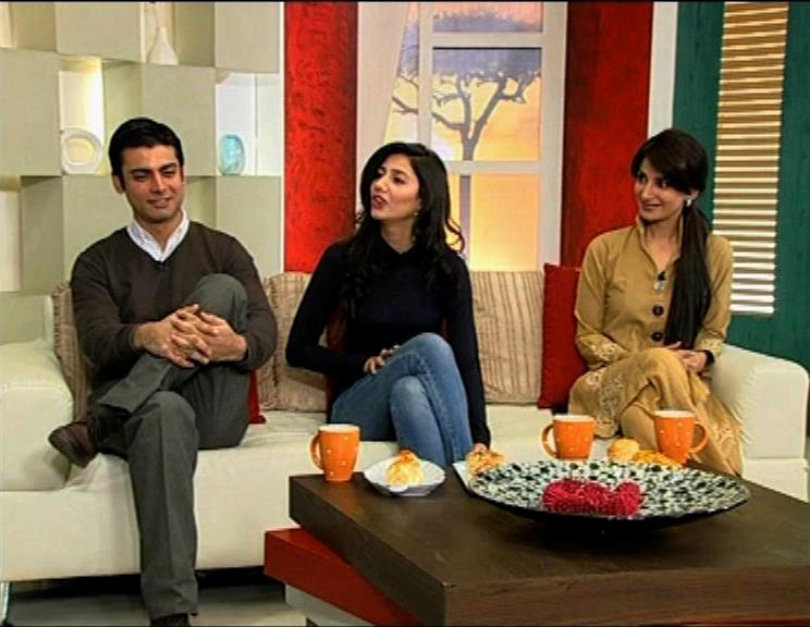 Fawad Khan and Mahira Khan on Jago Pakistan Jago