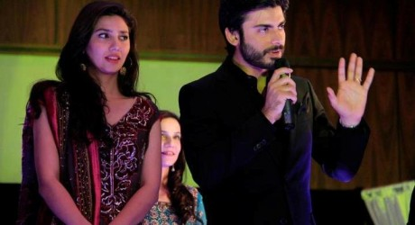 Fawad Khan and Mahira Khan Together