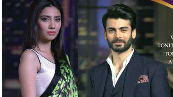 Fawad Khan and Mahira Khan Picture