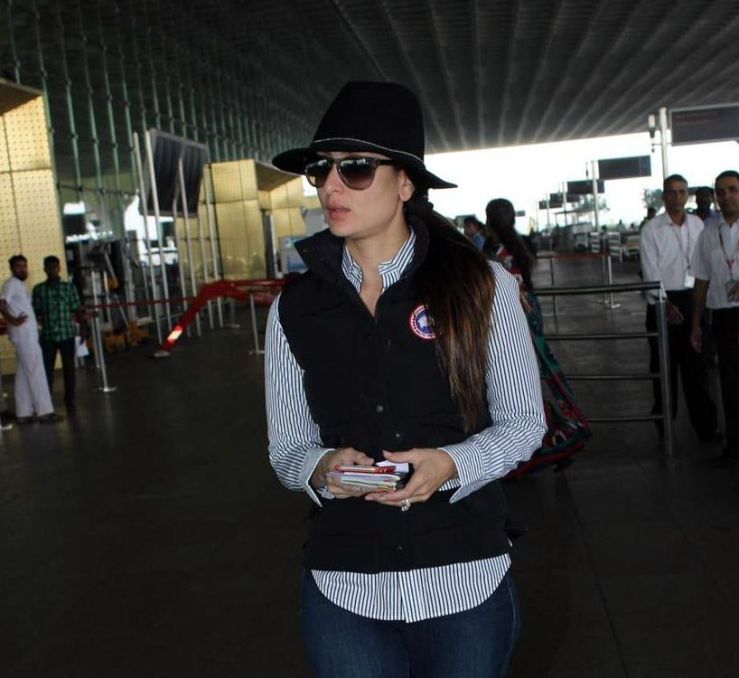 Kareena Kapoor Khan's airport look 02