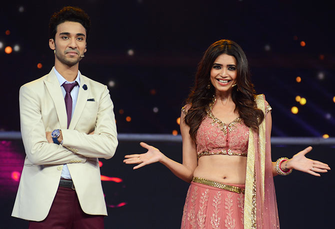 Raghav Juval and Karishma Tanna Hosting Prem Ki Diwali