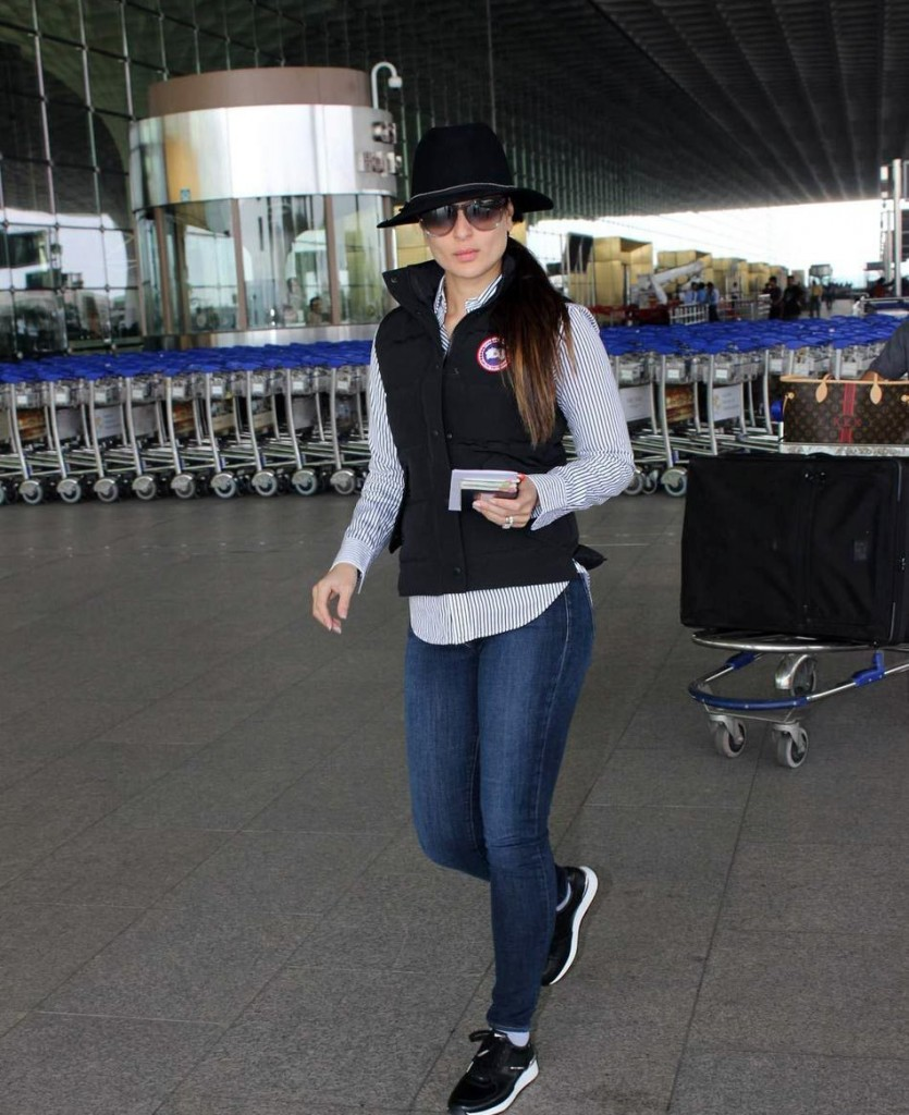 Kareena Kapoor Khan's airport look 01