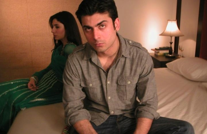 Fawad Khan and Mahira Khan Photo