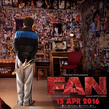 First Poster of SRK starrer 'Fan' Released