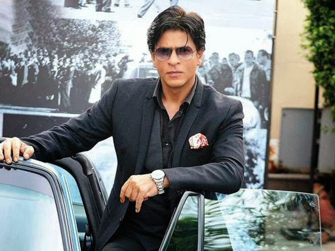 Shah Rukh Khan in Black