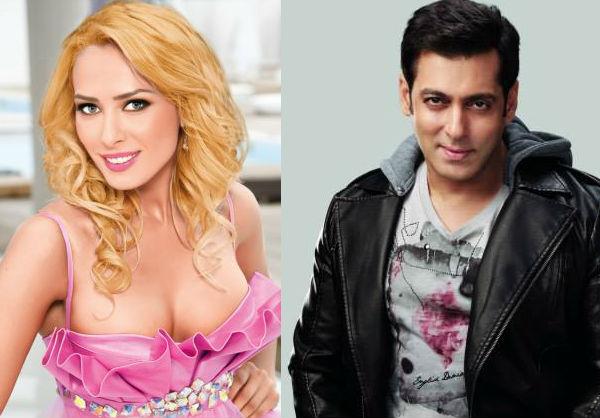 Salman Khan and Iulia Vantur 2