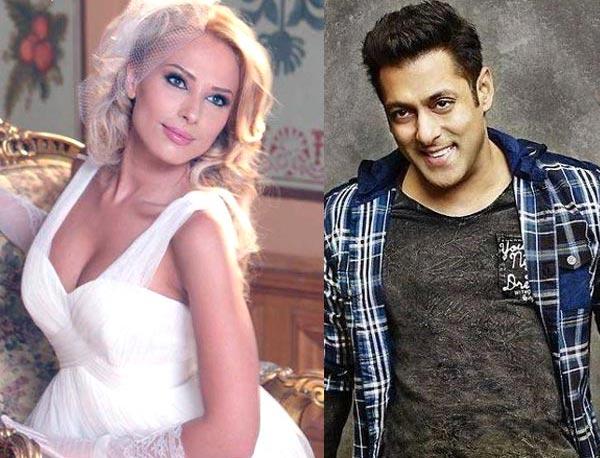 Salman Khan and Iulia Vantur 1