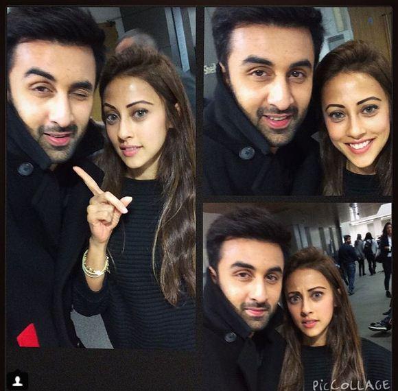 Ainy Jaffri with Ranbir Kapoor