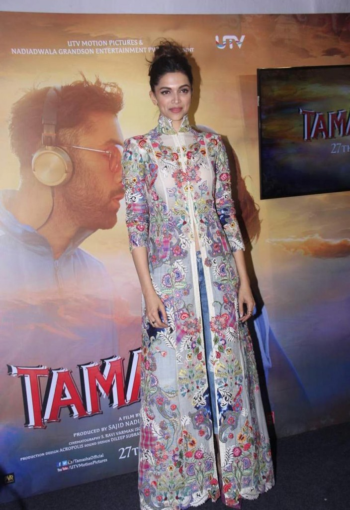 Deepika at 'Wat Wat' Song Launch From 'Tamasha' 11