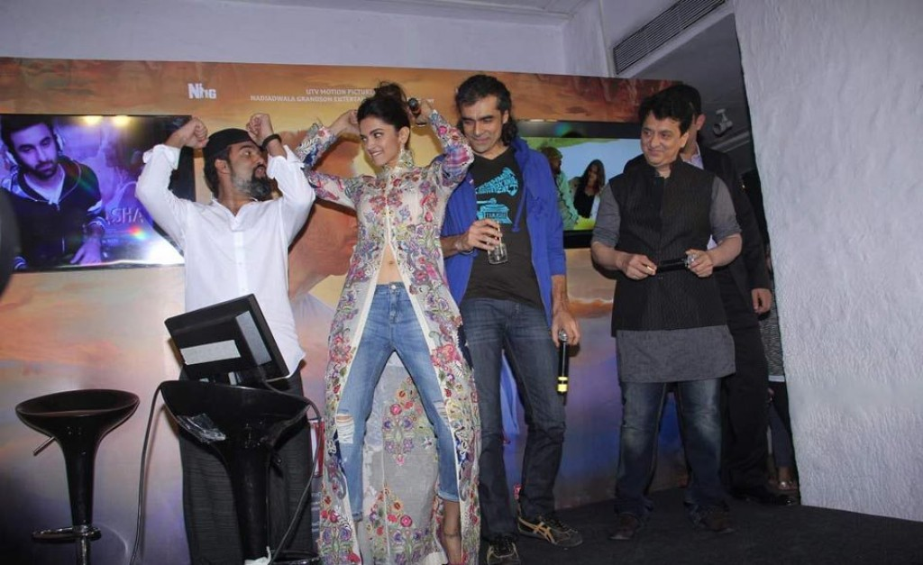 Deepika at 'Wat Wat' Song Launch From 'Tamasha' 04
