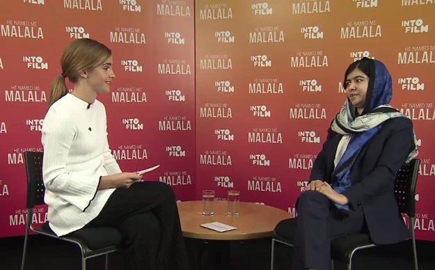 Emma Watson Interviews Malala Yousafzai 2
