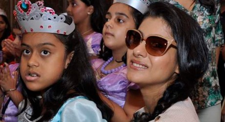 Kajol with her daughter