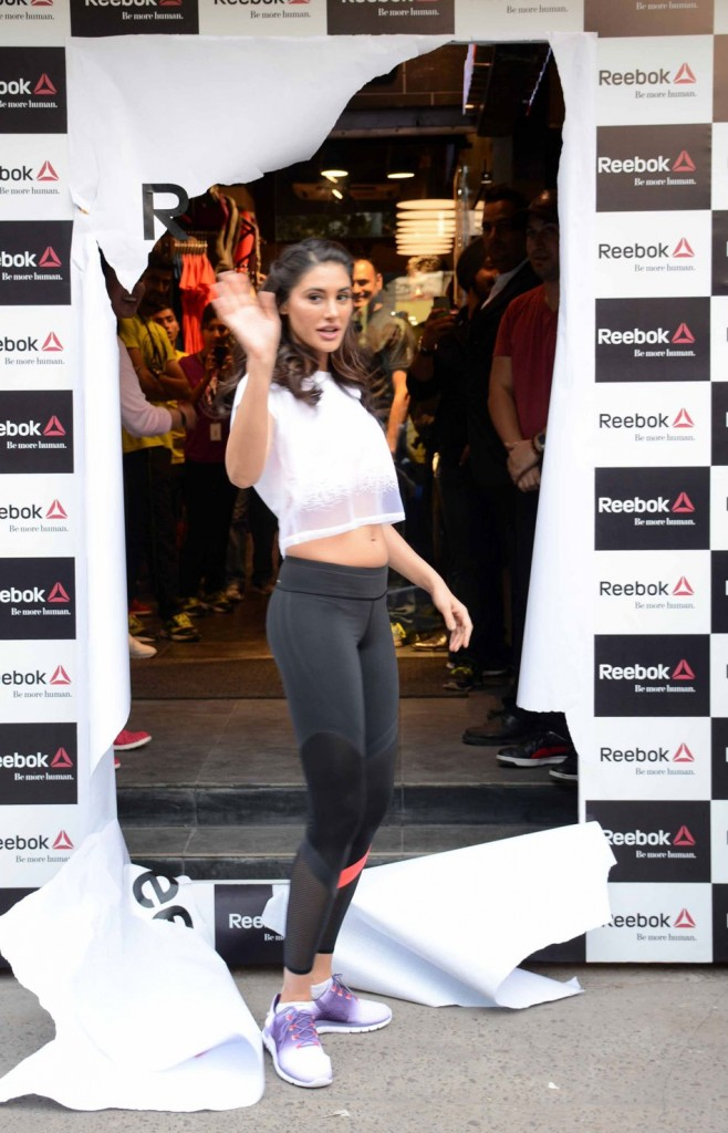 Nargis Fakhri at Fit Hub Store 02
