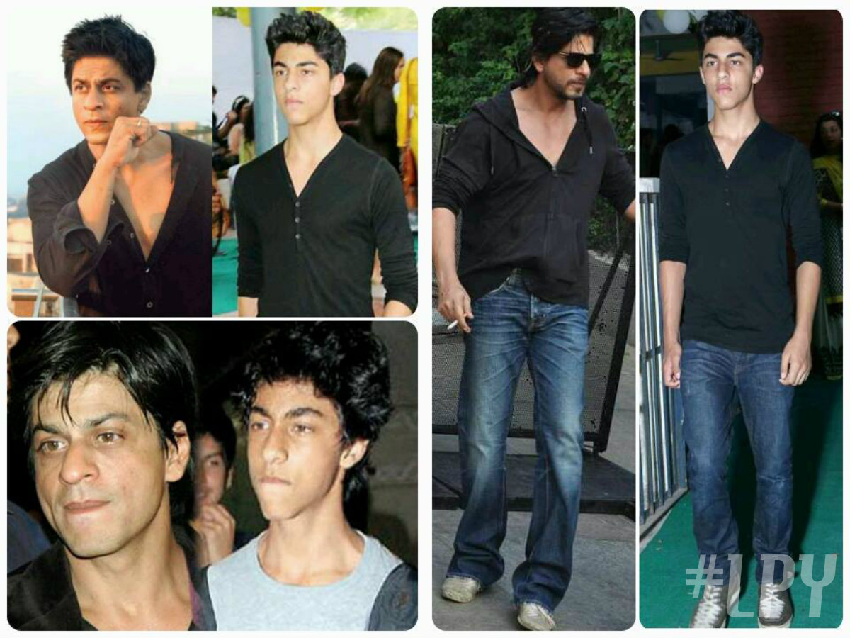 Aryan Khan Look like His Father
