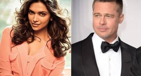 Deepika & Brad Pitt