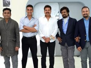 "Akshay Kumar In Film ""Robot 2"""