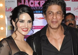 Sunny Leone and SRK