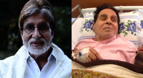 Dilip Kumar & Amitabh Bachchan