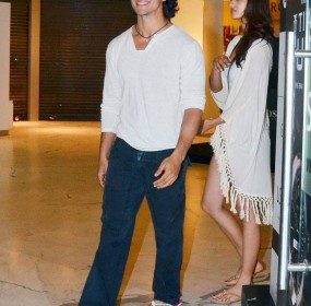 Tiger Shroff Dating with girlfriend Disha Patani