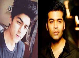 Karan Johar against early film career of Aryan Khan