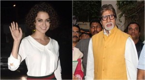 Amitabh and Kangana National Award for Piku and Tanu Weds Manu
