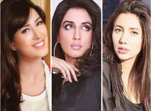 Mehwish Hayat, Iman Ali and Mahira Khan