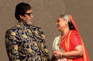 Amitabh and Jaya Bachchan celebrating 43rd Wedding Anniversary